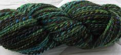 Handspun yarn, SCF Enchanted #handspun