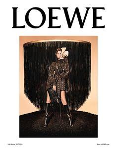 Gisele Bundchen fronts Loewe's fall-winter 2017 campaign