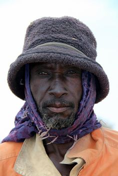 This is an average man in Senegal.