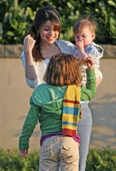 On the set of Ramona and Beezus. Alex Russo, Her Music, Dance Music, Selena Gomez, Ramona And Beezus, Sun Goes Down, Queen Of Everything, Joey King, Marie Gomez