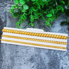 1 piece bead border silicone mold
