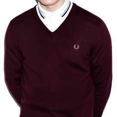 "#FredPerry ""Clasicc V-Neck Sweater"" #jersey #sweater #fredperryoriginal #fredperryauthentic #nuevacoleccion #newcollection #AW15  http://www.rivendelmadrid.es/shop/marcas-de-rivendel-madrid/hombre/fred-perry/jerseys.html"