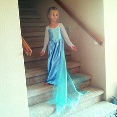 Frozen elsa dress handmade