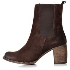 Jeffrey Campbell Areas Boots Brown suede heeled boots Jeffrey Campbell Shoes Heeled Boots