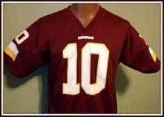 WASHINGTON REDSKINS ROBERT GRIFFIN RG3 REPLICA NFL PLAYERS JERSEY YOUTH XLARGE #NFLPLAYERS #WashingtonRedskins