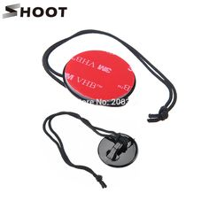 SHOOT Safety Insurance Clasp Tethers and 3M VHB Adhesive Sticker For Gopro Hero 5 4 3 SJ4000 SJ5000 Xiaomi yi Go pro Accessories
