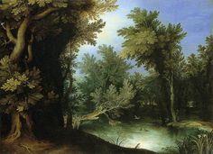 Paul Bril - Landscape with a Marsh, 1595