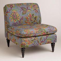 Sahara Bloom Ravenna Chair from Cost Plus World Market's New Desert Caravan Collection >> #WorldMarket Home Decor Ideas