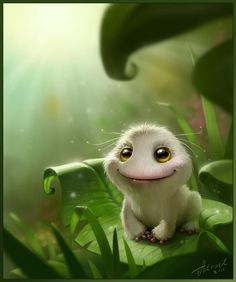 Frog recovered by Anna Antracit, via Behance