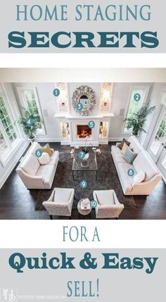 This article shares home staging secrets in an interview with professional home stager, Tori Toth! Lots of great advice!