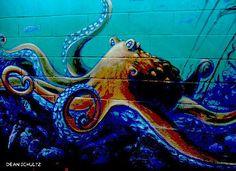 octopus graffiti