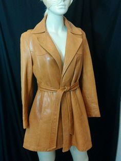 Vintage Remy leather jacket womens 1970s fabulous