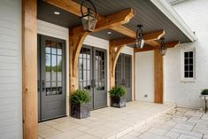 Green Hills Residence Swinging Doors