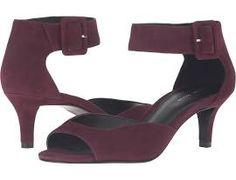 Pelle Moda Berlin High Heels Dark Cherry Suede : 6.5 M
