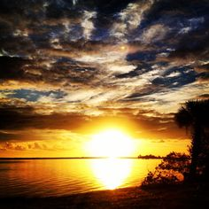 Sunrise in Sebastian, Florida!  THIS IS WHERE I GO EVERY SPRING BREAK!!