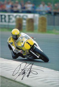 Kenny Roberts Hand Signed Yamaha Photo 12x8 5 | eBay
