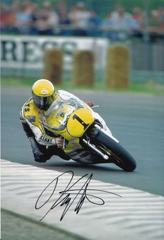 Kenny Roberts Hand Signed Yamaha Photo 12x8 5 | eBay