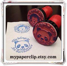 Book stamp for children