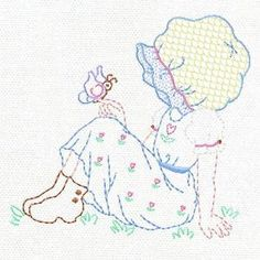 OregonPatchWorks.com - Sets - Sweet Sunbonnets Set 2