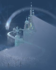 Frozen art by Mike Gabriel