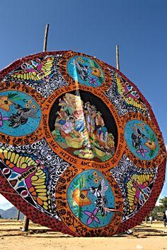 Sumpango (festival de barriletes gigantes. GT.-