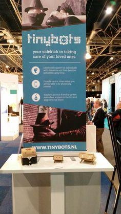 www.tinybots.nl  #innovatie #domitica #dementie #startup