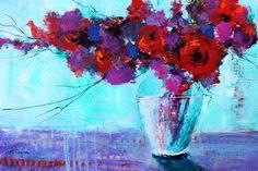 Flowers Using Acrylic Paint - Watercolor UniversityWatercolor University