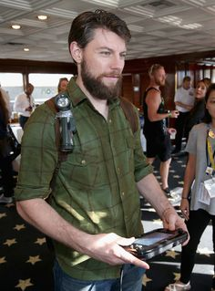 Patrick Fugit Photos - Actor Patrick Fugit attends The Nintendo Lounge on the TV Guide Magazine yacht during Comic-Con International 2015 on July 11, 2015 in San Diego, California. - The Nintendo Lounge on the TV Guide Magazine Yacht at Comic-Con International 2015