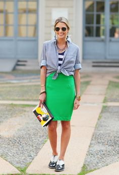 Hummmm  Vou ter uma saia dessa cor  #partiulojadetecidos