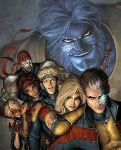 Beast and X-Men!