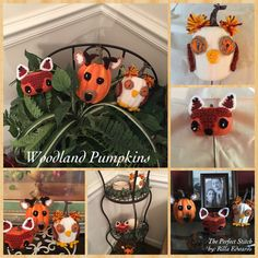 The Perfect Stitch...: Woodland Pumpkins...