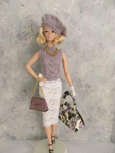 """OOAK Handmade Vintage Barbie/Silkstone """"Lavender & Lace!"""" by Ann"""