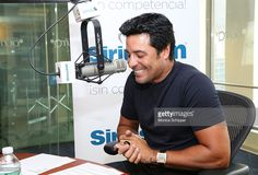 Latin singer Chayanne visits the SiriusXM Studios on October 21, 2014 in New York City.