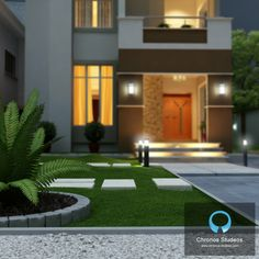 3D Visualization of the Exterior of a Private Residence - Lagos, Nigeria - 2013