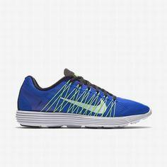 promo code 1378e 1bacb Nike Men s Racer Blue Voltage Green Black White Lunaracer+ 3 Running Shoe