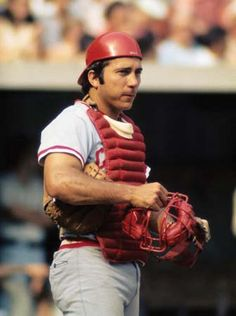 Johnny Bench....my all-time MLB hero. #5 for the Big Red Machine!!!