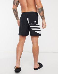 Mens Cotton Shorts, Streetwear Shorts, Casual Outfits, Men Casual, Gym Shorts Womens, Men Shorts, David Gandy, Swim Shorts, Adidas Originals
