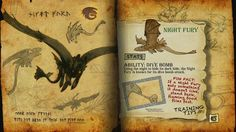 Book Of Dragons - Night Fury page
