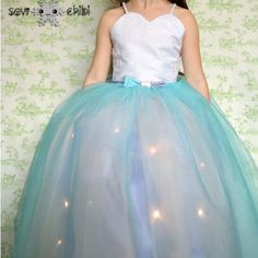 DIY Light up Princess Dress