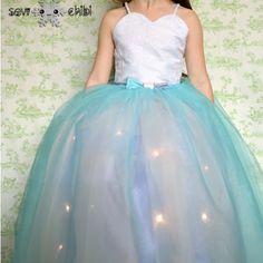 DIY Light up Princess Dress