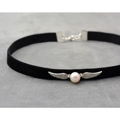 harry potter choker ❤ liked on Polyvore featuring jewelry, necklaces, vintage jewelry, vintage choker, vintage choker necklace, choker jewelry and vintage jewellery