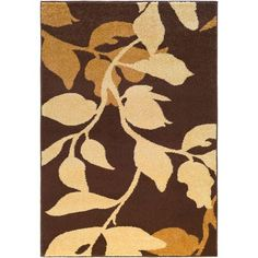 River Home Brown Rectangular: 7 Ft. 6-Inch x 10 Ft. 6-Inch Rug - (In No Image Available)