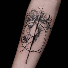 Absolutely amazing work by beautiful horse tattoo. Tribal Tattoos, Tattoos Skull, Back Tattoos, Trendy Tattoos, Cute Tattoos, Leg Tattoos, Sleeve Tattoos, Tattoos For Guys, Tattoos For Women