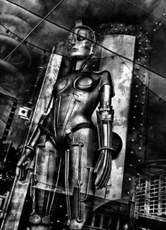 Metropolis directed by Fritz Lang, 1927 Fiction Movies, Science Fiction Art, Sci Fi Movies, Metropolis Fritz Lang, Metropolis 1927, Metropolis Robot, Christopher Robin, Art And Illustration, Cyberpunk