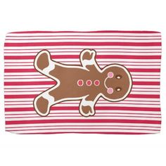 Peppermint Gingerbread Kitchen Towel