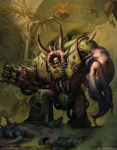 Warhammer 40k Artwork | Death Guard Nurgle Hellbrute http://wellofeternitypl.blogspot.com #artwork #art #aos #warhammer #40k #40000 #arts #artworks #gw #gamesworkshop #wellofeternity #wargaming