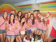 We found Wally in Manchester on a Girly Night Out!! A great fancy dress theme for any Hen Party, Birthday or Student Night... Where will Wally go next....? xx
