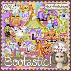 Pink's Poetic Scraps: New - Bootastic!