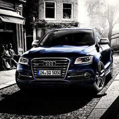 """@audi's photo: """"The SQ5 is the latest addition to the Audi SUV family... More sport for more people."""""""