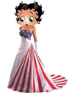 Betty Boop 4th Of July Ball \